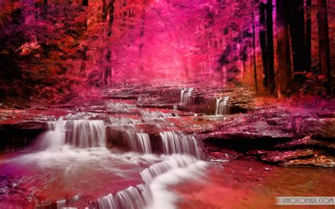 colorful waterfall wallpapers  wallpapers