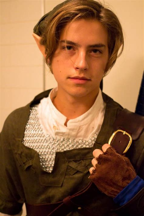 Cole Sprouse As Link From The Legend Of ...