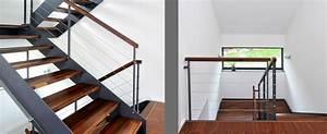 Stahltreppe Mit Holzstufen : stahltreppe mit holzstufen von frammelsberger treppen treppen ~ Orissabook.com Haus und Dekorationen