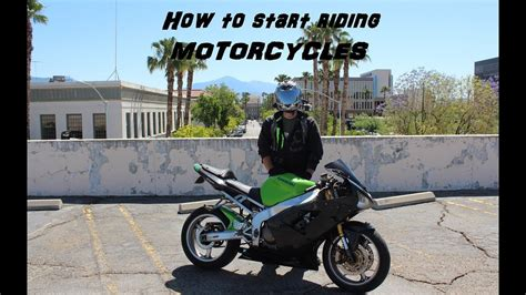 So You Want To Start Riding Motorcycles