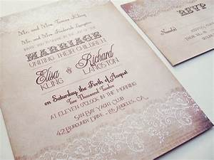 country wedding invitation country lace wedding invitation With elegant wedding invitations with rhinestones and lace