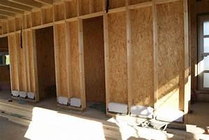 Faire Une Cloison En Bois : mur de briques de terre crue et ossature bois 52 messages ~ Melissatoandfro.com Idées de Décoration