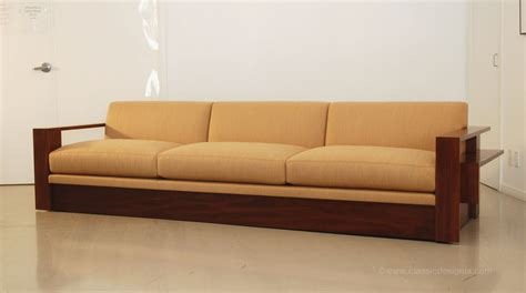 Wood Frame Loveseat by Classic Design Custom Wood Frame Sofa