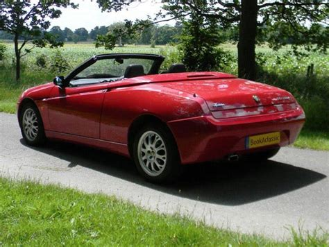 Alfa Romeo Spider For Hire In Potters Bar, London