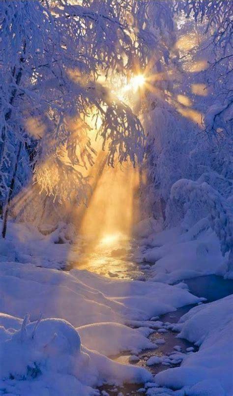 Le paysage d hiver en 80 images magnifiques