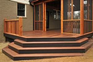 Stair Ideas for Porches HGTV