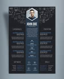 It Professional Resume Templates Free Creative Resume Cv Designtemplate Psd File Resume