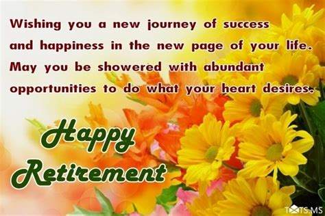 congratulations wishes  retirement quotes messages images  facebook whatsapp picture