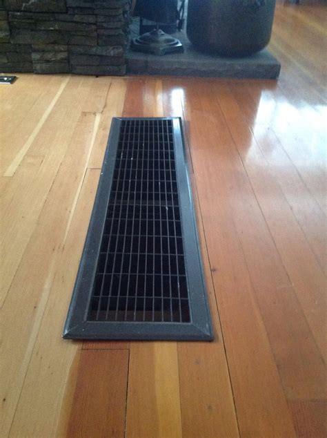 Floor Grate Installed (with Pic)  Grant Mcmillan Wood