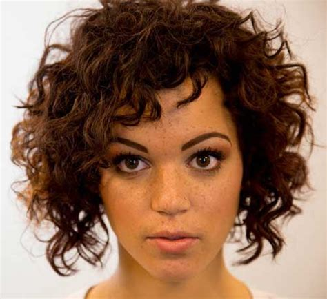 20 most beautiful short curly hairstyles short