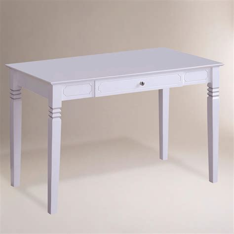 world market white desk white wood douglas desk world market