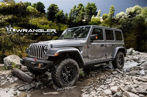 willys jeep pickup lifted 2018 jeep wrangler unlimited previewed in unofficial