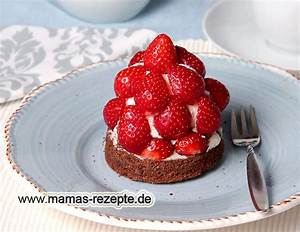 Mamas Rezepte : erdbeer sahne t rmchen mamas rezepte mit bild und kalorienangaben ~ Pilothousefishingboats.com Haus und Dekorationen