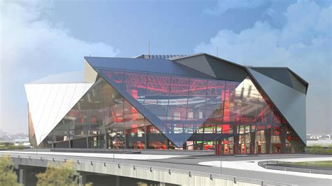 New Atlanta Falcons' Stadium  360 Architecture Arch2o