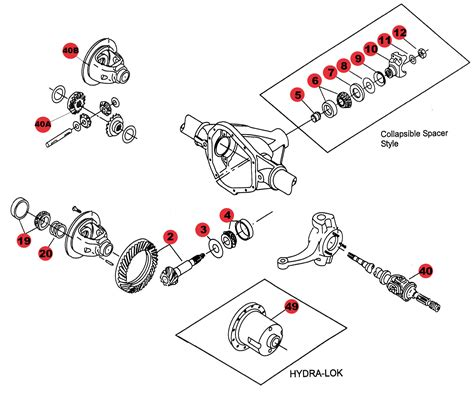 shop by diagram jeep axle parts axle for front 30 jeephut offroad