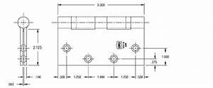 5 x 5 Ball Bearing Hinge, Bommer BB5000-500 - Doorware.com