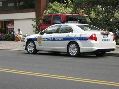Honolulu Police Department Old Style Ford Fusion