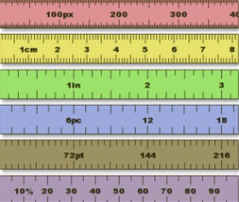 list    screen rulers
