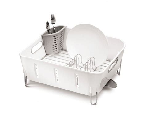 dish rack that fits in sink simplehuman compact stainless steel dish rack sink drainer