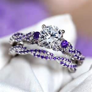 engagement rings with purple diamonds 25 best ideas about purple wedding rings on purple engagement ring
