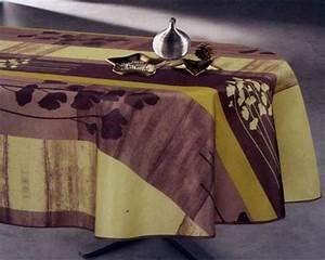 Nappe Table Ovale : nappes de table linge de table royal tiss ~ Teatrodelosmanantiales.com Idées de Décoration
