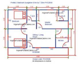 photos and inspiration three bedroom building plan prefab house plans nigeria free prefab and steel
