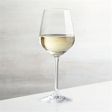 nattie white wine glass reviews crate  barrel