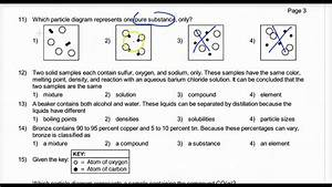 Review Classification Of Matter Regents Questions 1