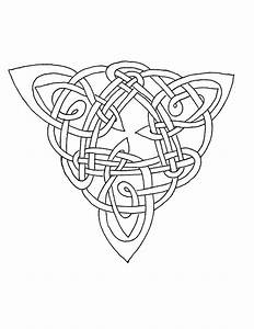 Celtic Coloring - Triangle IV by Artistfire on DeviantArt