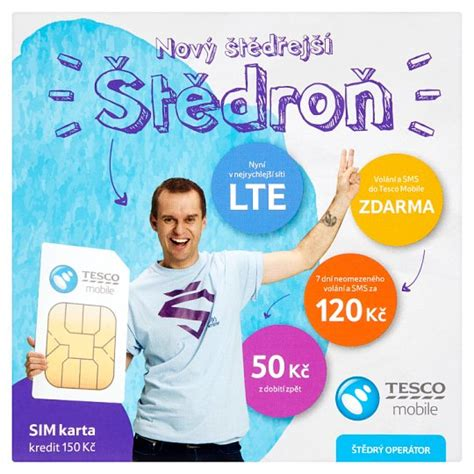 tesco mobile sim tesco mobile 蝣t茆dro蛻 sim karta kredit 150 k芻 tesco potraviny
