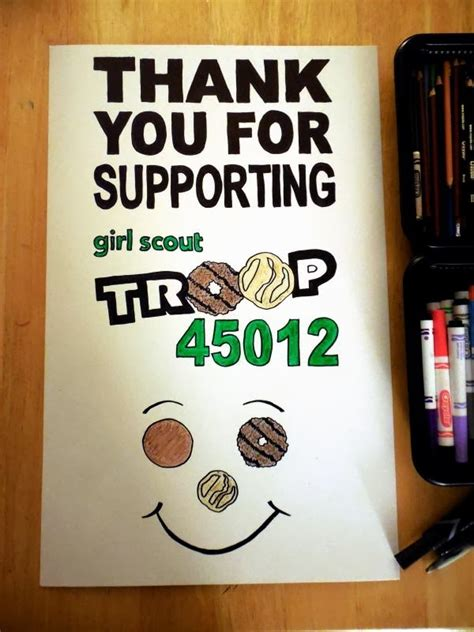 girl scouts troop  girl scouts cookie booth posters