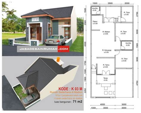 rumah minimalis ukuran   families journey