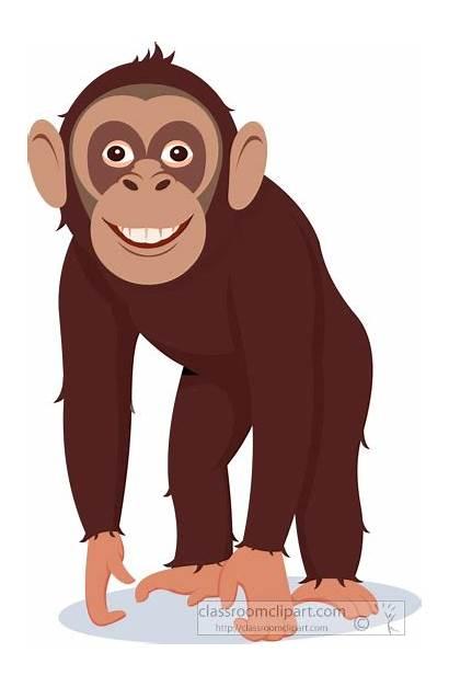 Chimpanzee Clipart Chimp Clip Cliparts Library Vector