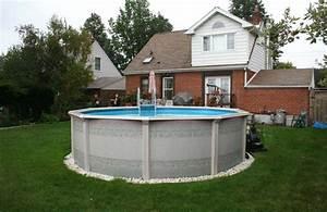 Quel Prix Pour Une Piscine : amnagement autour d une piscine hors sol free superbe ~ Zukunftsfamilie.com Idées de Décoration