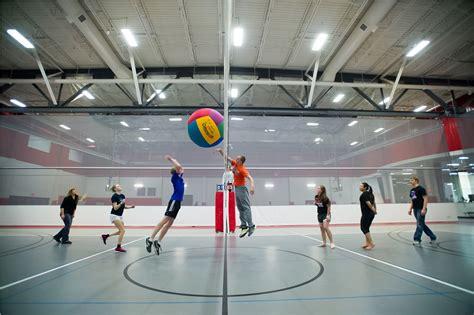 northwestern college  giant beach volleyball