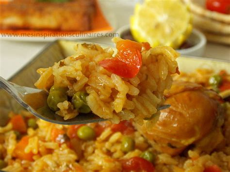 riz cuisiné riz au poulet cuisine algerienne le cuisine de samar