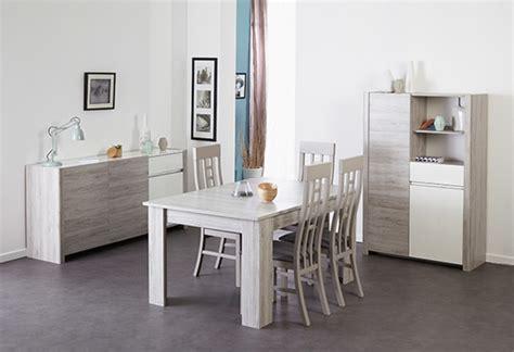 chaises cuisine fly bibliothèque 2 portes 1 tiroir luneo chene gris blanc brillant