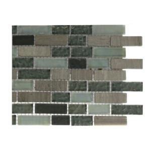 splashback tile galaxy blend brick pattern 1 2 in x 2 in
