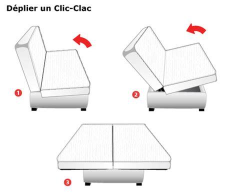 dimension d un clic clac matelas clic clac dimensions et prix ooreka