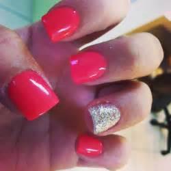 Acrylic nails on cute nail designs