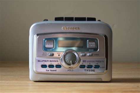 Aiwa Cassette Player by Left Turn 4 Records Cassette Player Store Aiwa Stereo