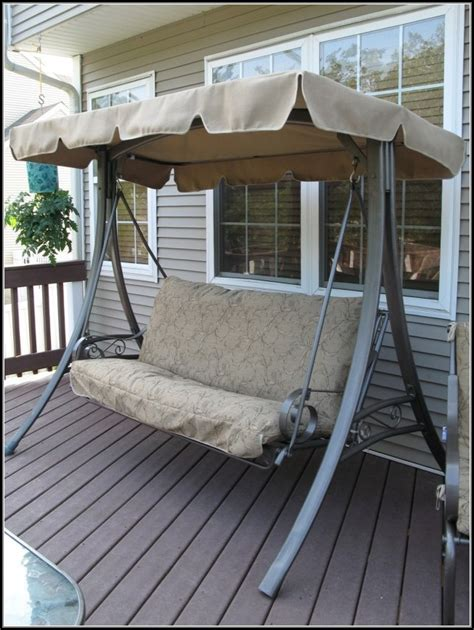 patio swing walmart patio swing cushion with back patios home decorating