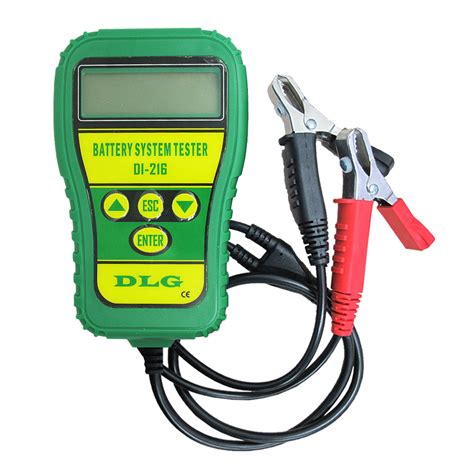 How to make an informative battery test. DLG DI-216 12V Automotive Battery Tester Vehicle Car ...
