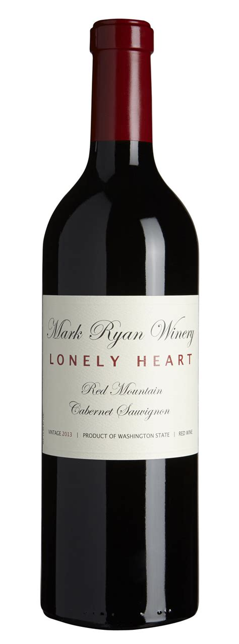 cabernet sauvignon wine wines heart lonely washington mark