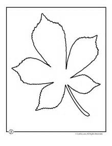 chestnut tree leaf pattern woo jr activities