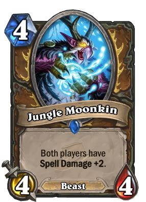 Icy Veins Druid Deck by Jungle Moonkin Hearthstone Card Database Gosugamers