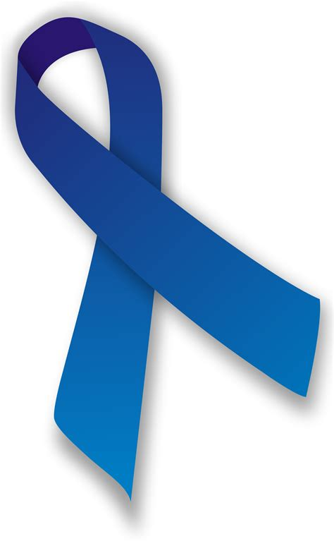 colon cancer ribbon color blue ribbon svg projects cancer awareness ribbons