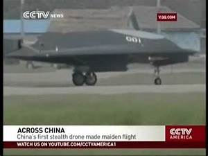 China's first stealth drone made maiden flight - YouTube
