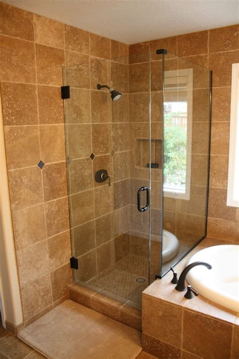 Walk In Shower Materials by Walk In Shower As An Extension Of The Small Bath Hum Ideas
