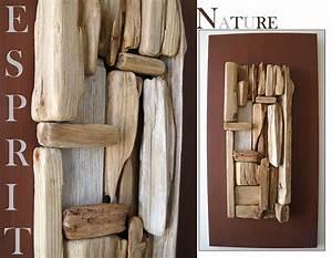 Tableau En Bois Décoration : tableau mosa que cubique au fil de l 39 eau bois flott ~ Teatrodelosmanantiales.com Idées de Décoration